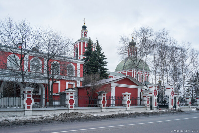 Храм иконы Божией Матери Знамение в Переяславской слободе