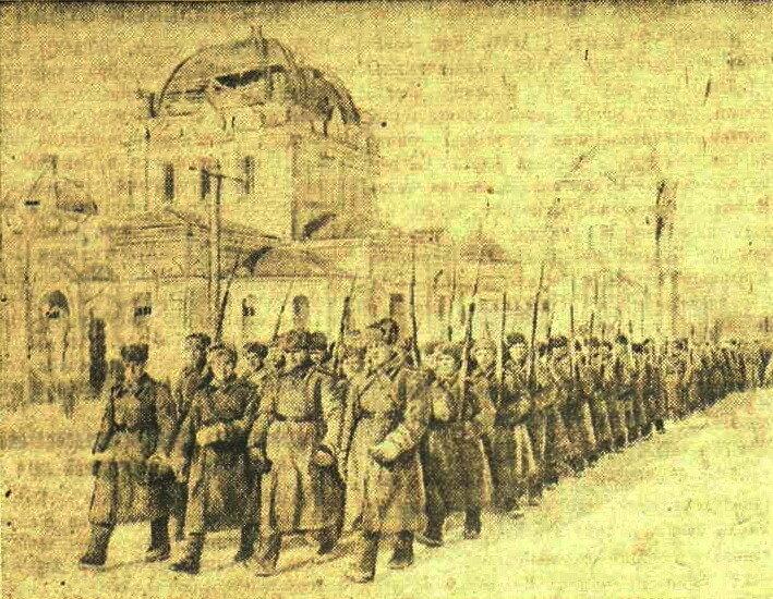 освобождение Гжатска, немецкая оккупация