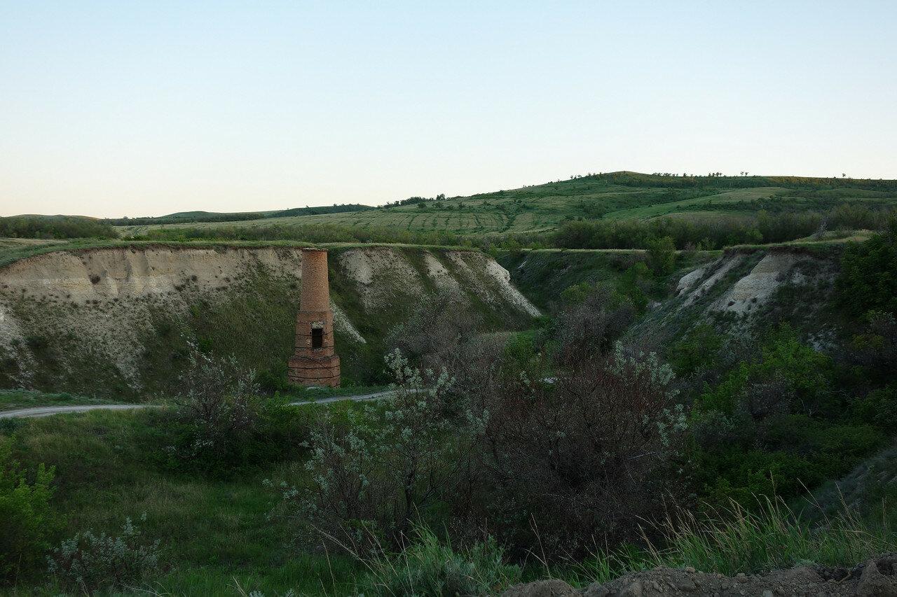 печная труба алебастрового завода
