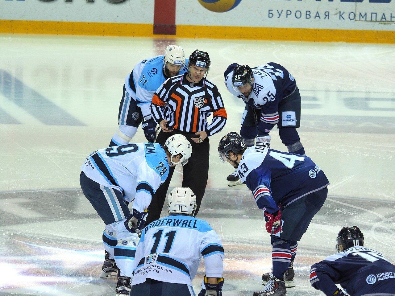 52Восток 1/2 плей-офф Металлург - Сибирь 08.03.2016