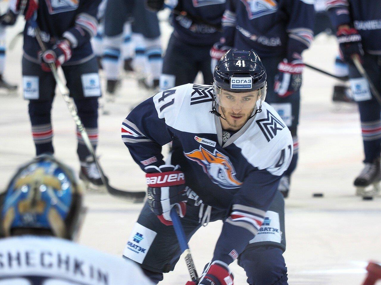 39Плей-офф 2016 Восток 1/2 Металлург - Сибирь 10.03.2016
