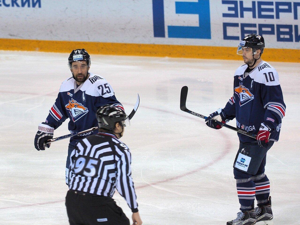 56Плей-офф 2016 Восток 1/2 Металлург - Сибирь 10.03.2016