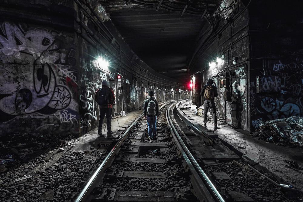 Заброшенные ветки подземки Нью-Йорка