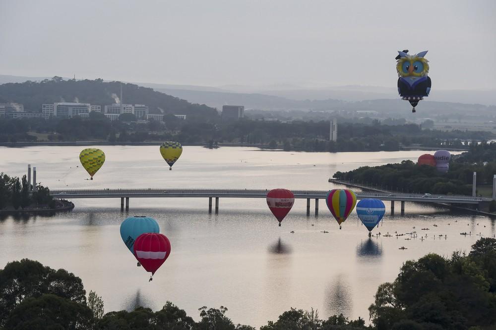 Фестиваль воздушных шаров в Австралии