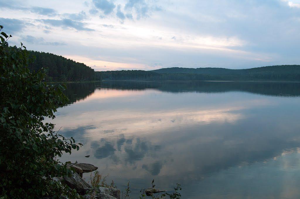 Красивейшее озеро Синара (22.03.2013)