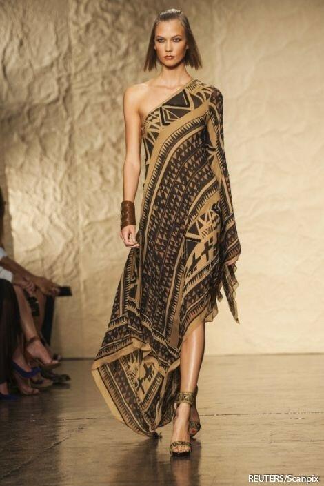 Туника с вышивкой в египетском стиле 23