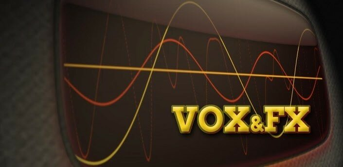 Vox & Fx - программа для изменения голоса на Android