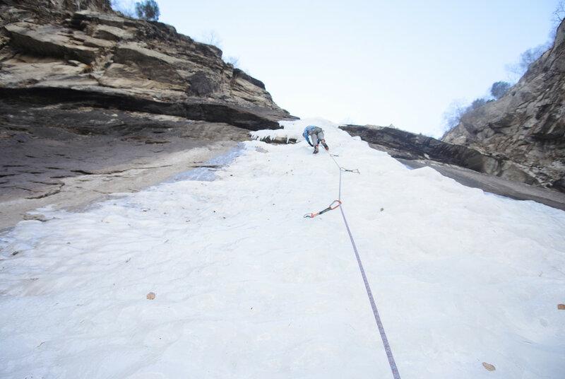 Ледолазание в Тырныаузе и катание на Эльбрусе, январь 2016