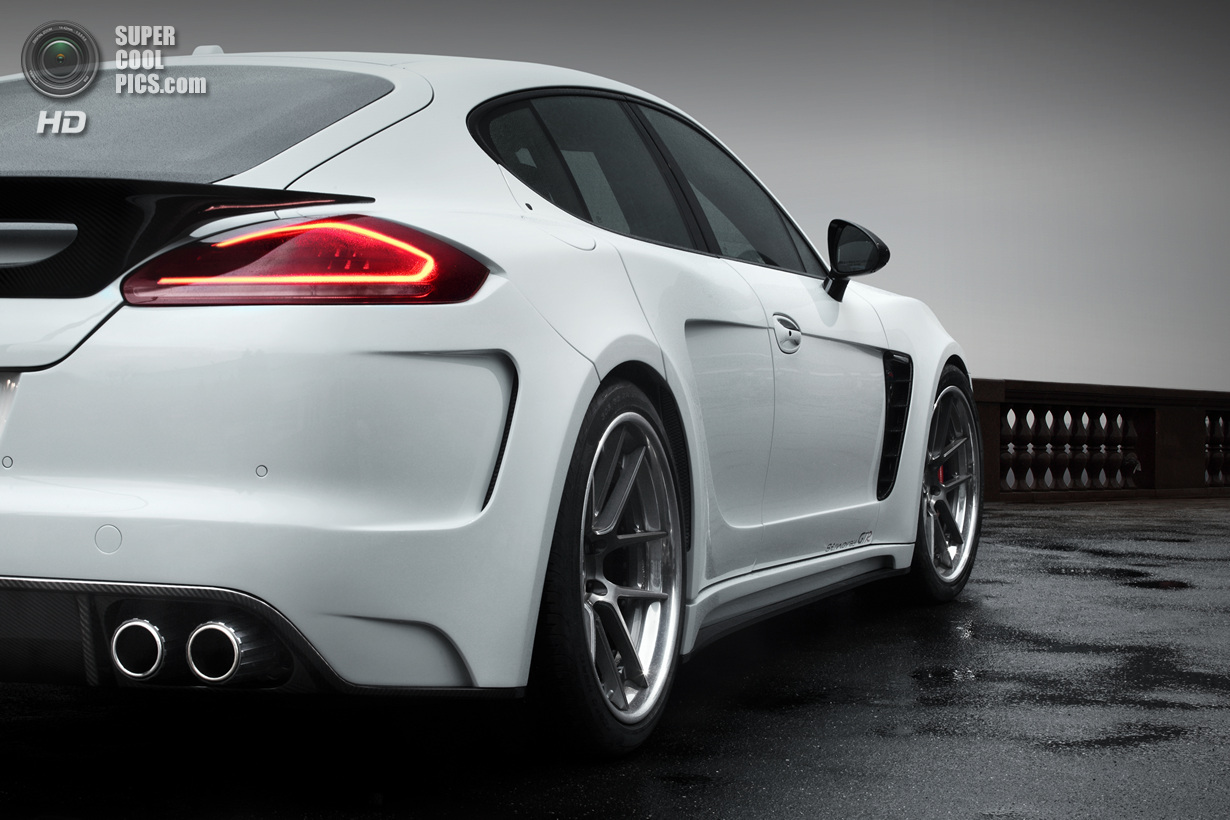 Россияне доработали Porsche Panamera