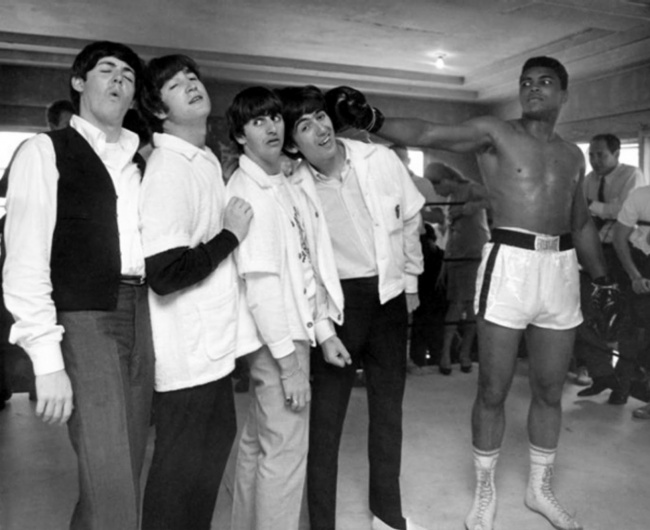 The Beatles иМохаммед Али, 1964г.