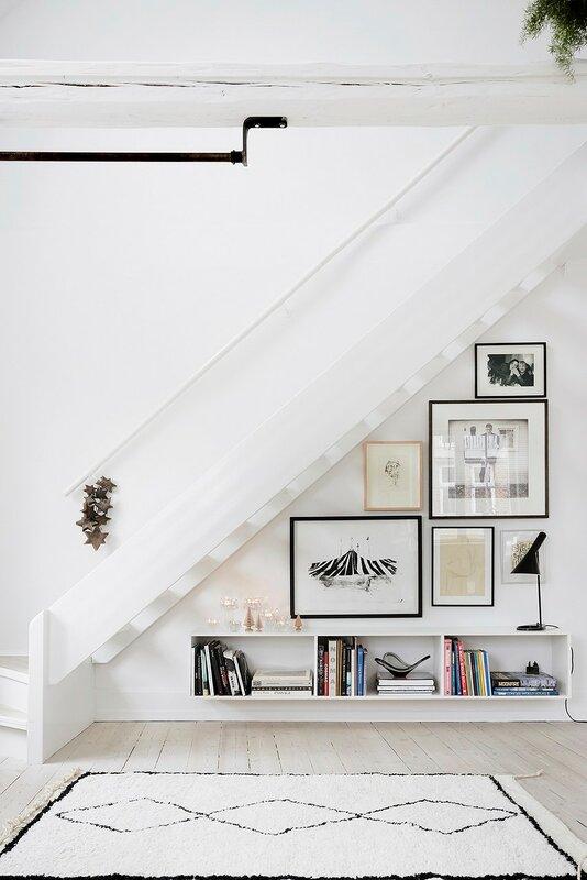 Лестница для дома на второй этаж дизайн фото 10