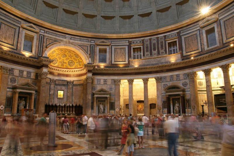 Самые красивые церкви Рима. Пантеон