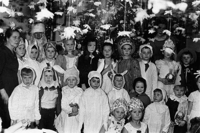 Популярные костюмы для новогодних утренников в СССР