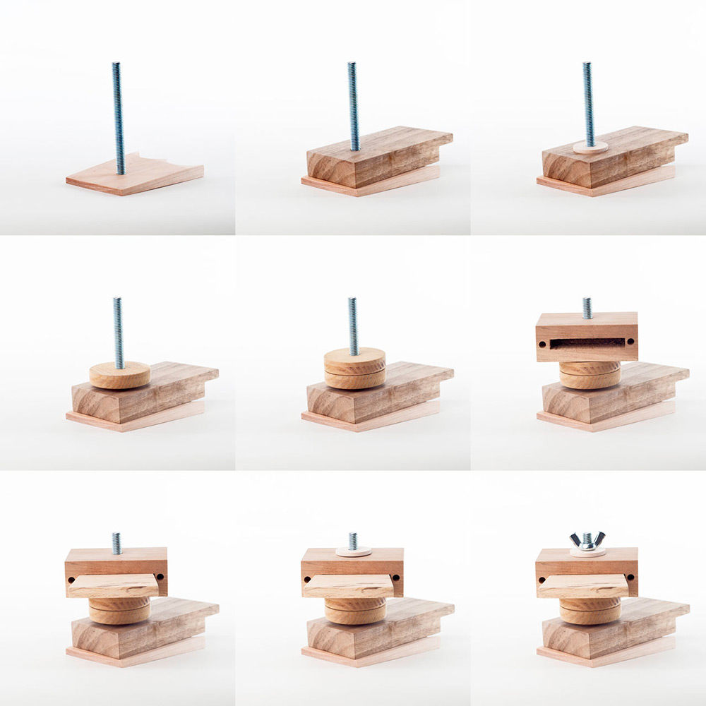 Limited Edition Scrap Wood Toys Full of Personality by Daniel Moyer