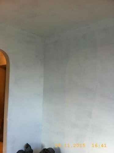 И потолок под покраску