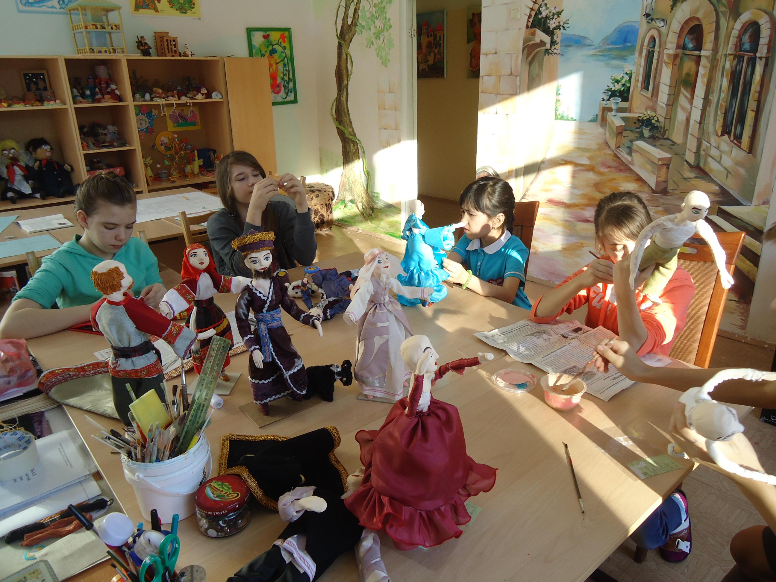 Мы делаем кукол