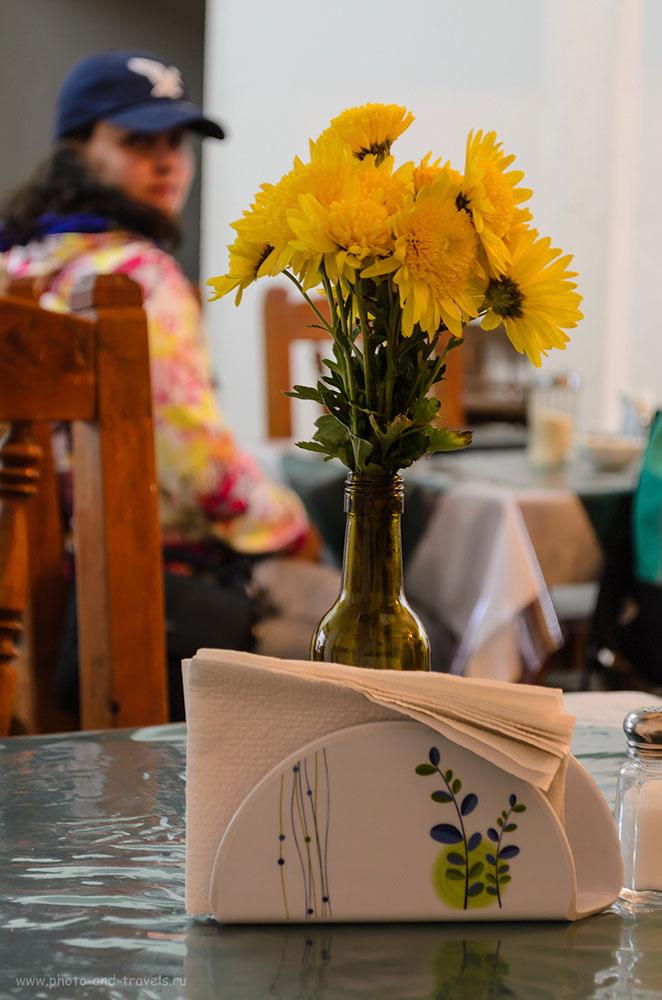 18. В ресторане города Сан Кристобаль де Лас Касас. Поездка в Мексику самостоятельно. Отзывы туристов.
