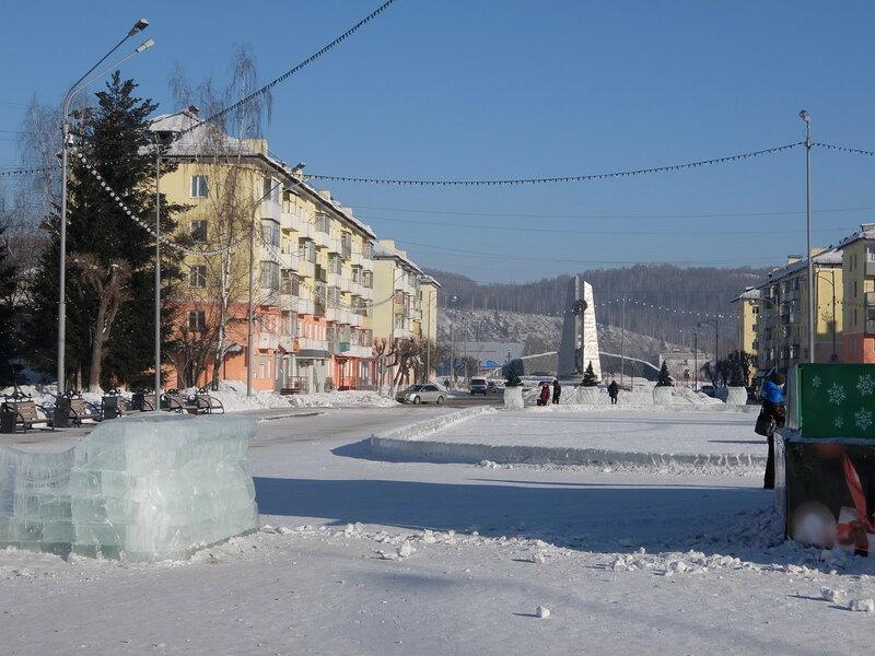 Междуреченск - Улица Весенняя
