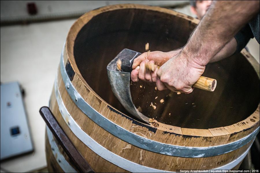 Cómo hacer barriles de coñac