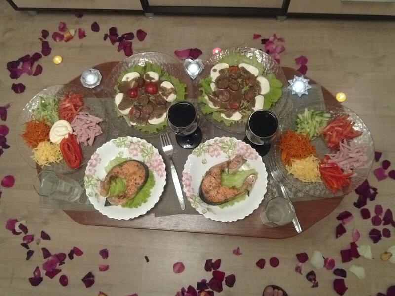 Блюда на романтический ужин рецепты с фото