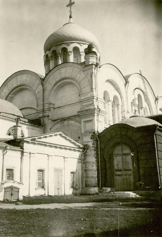 36603 Большая Дорогомиловская улица. Храм Богоявления в Дорогомилово 1931 Новый собор.jpg