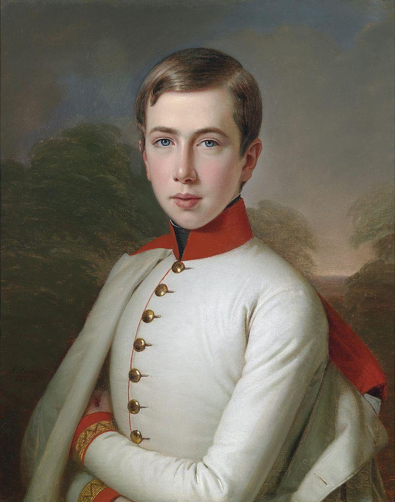 Антона Einsle Эрцгерцог Карл Людвиг 1848