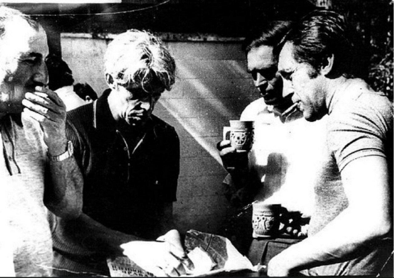 70. Владимир Высоцкий в Иркутской области. Фото Леонида Васильевича Мончинского, 20 июня 1976 года