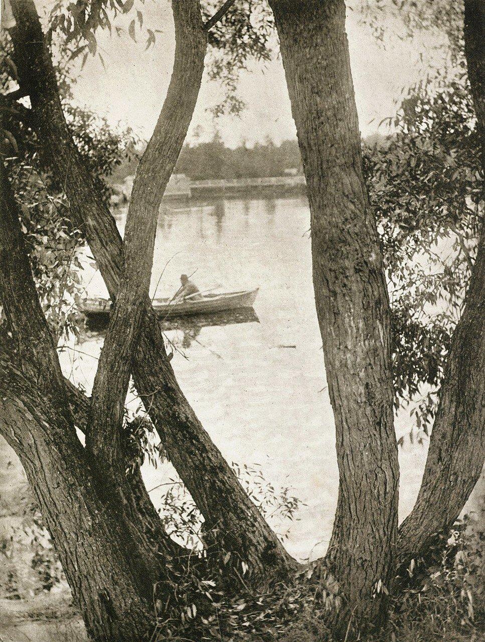 1899. Пейзаж с лодкой