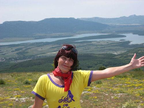 Людмила- путешественница в Ялте