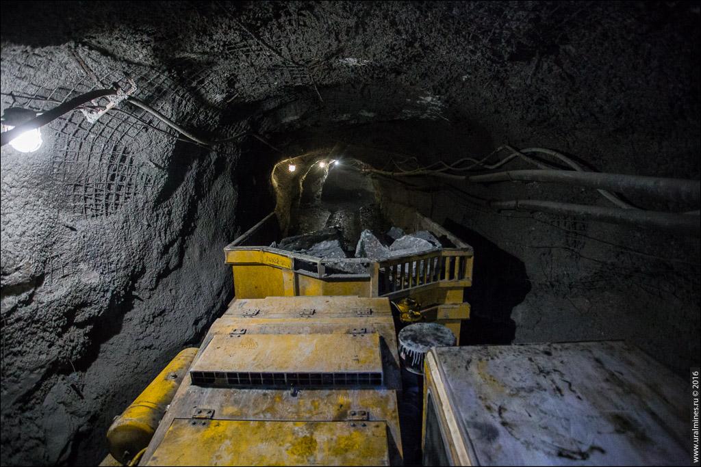 Сафьяновская медь - карьер и подземный рудник