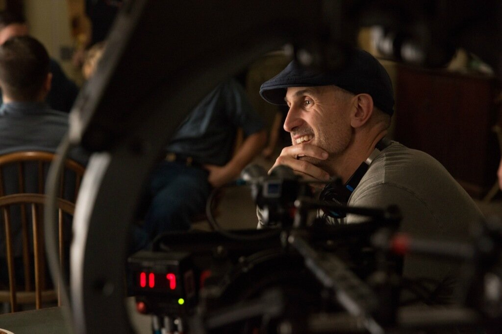 Director Craig Gillespie on the set of Disney's THE FINEST HOURS, a heroic action-thriller based on the most daring rescue in the history of the U.S. Coast Guard.
