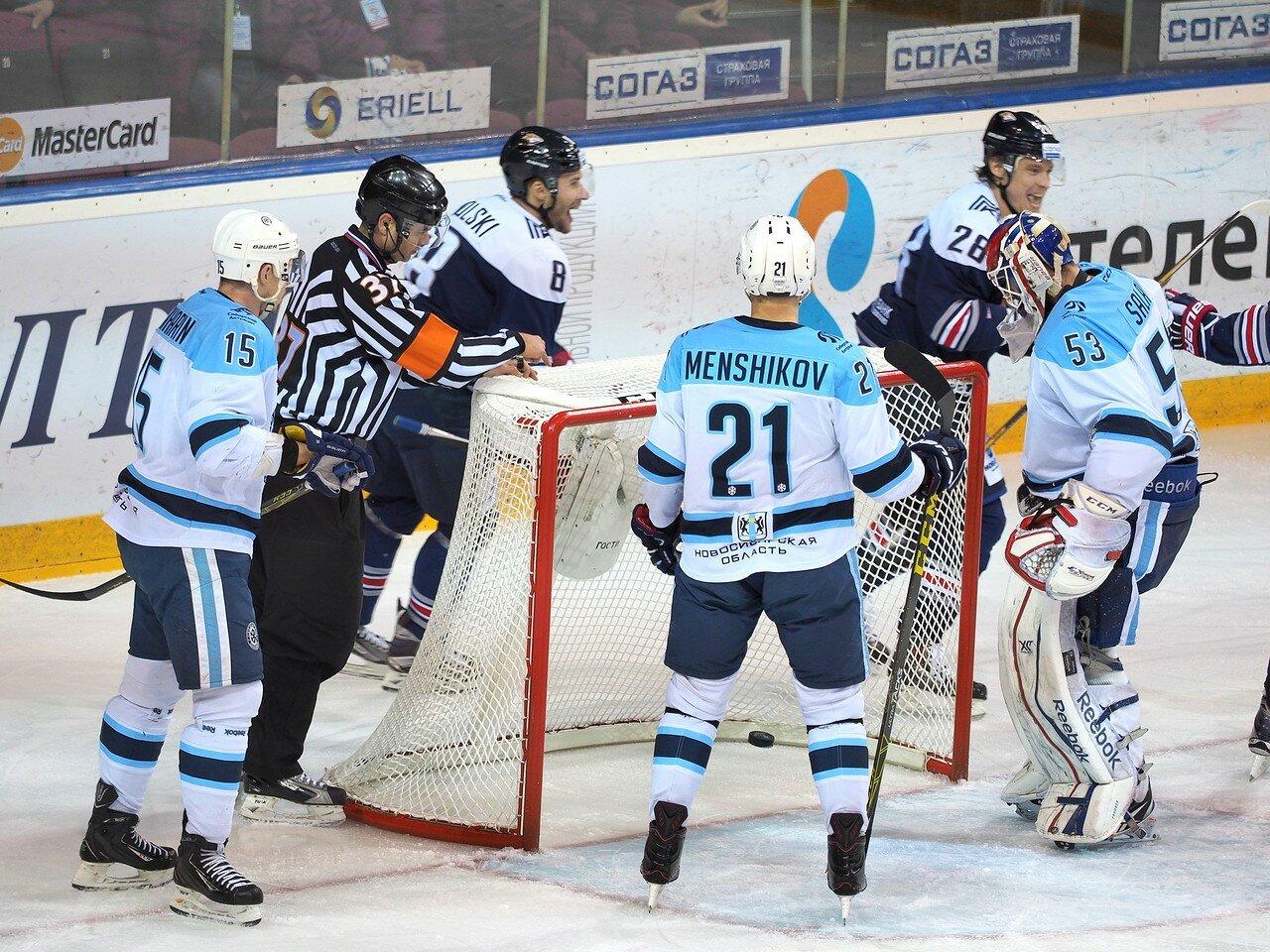 57Восток 1/2 плей-офф Металлург - Сибирь 08.03.2016