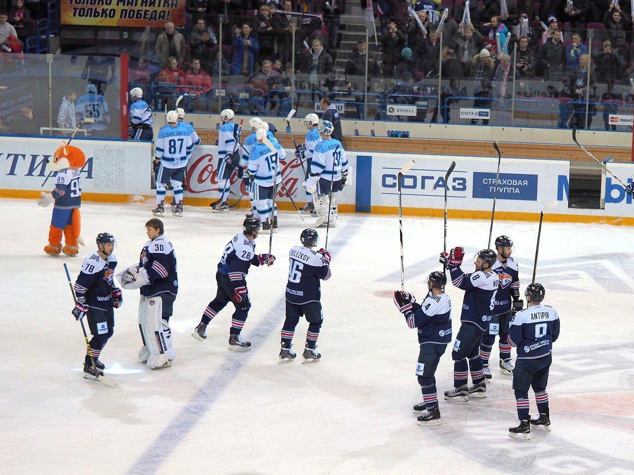 134Восток 1/2 плей-офф Металлург - Сибирь 08.03.2016