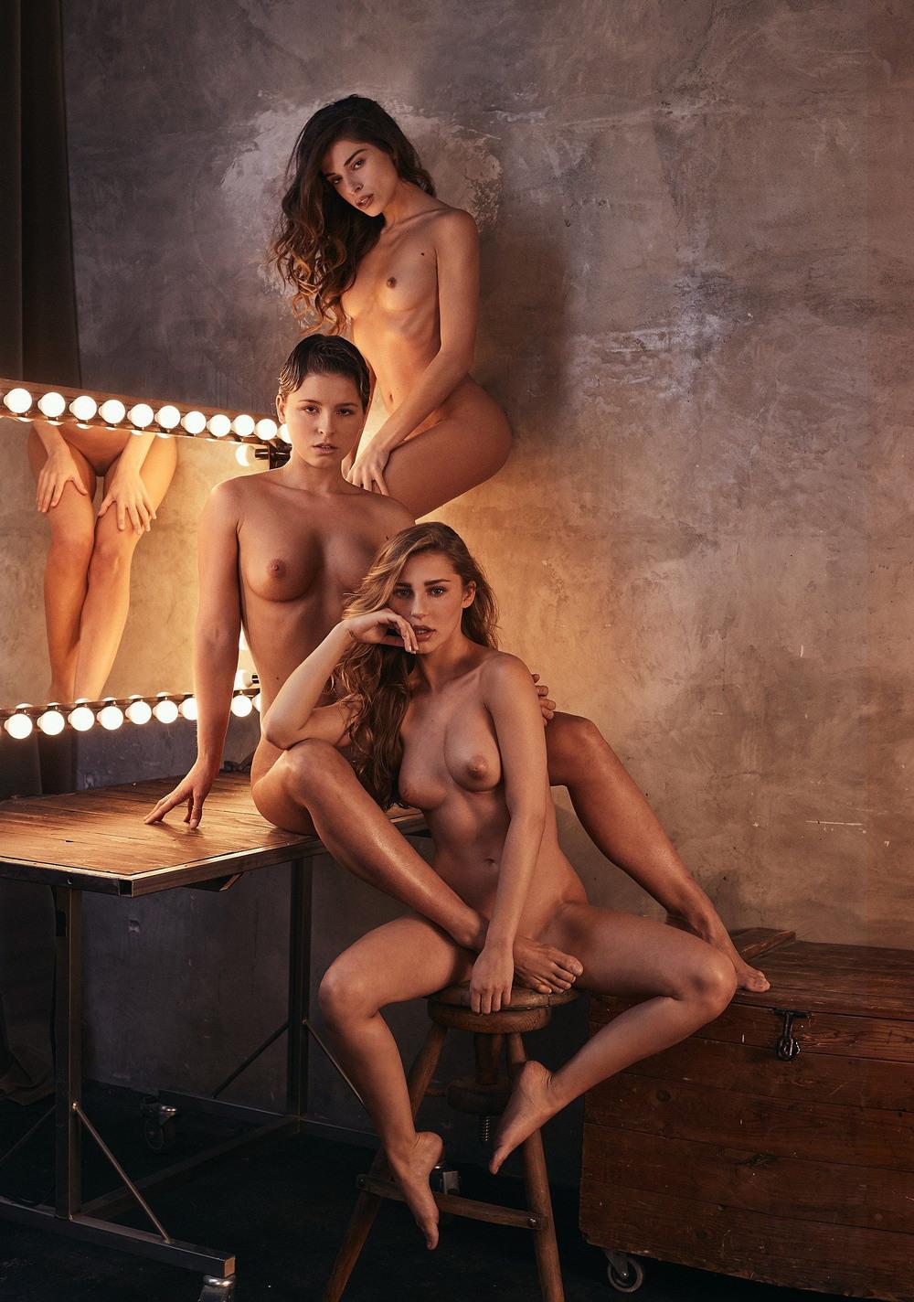 Мариса Папен и другие модели в журнале Playboy