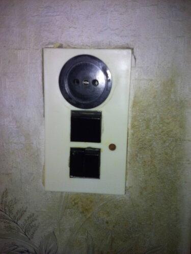 Замена блока выключателей в квартире на Малой улице (г. Пушкин, Пушкинский район СПб).