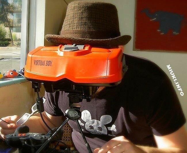 Уникальные изобретения компании Nintendo. Virtual Boy