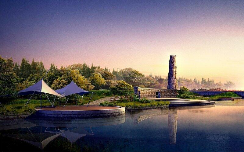 Красивые китайские пейзажи. Фотографии природы Китая, похожей на картины 0 1c4d3b 835b81cf XL