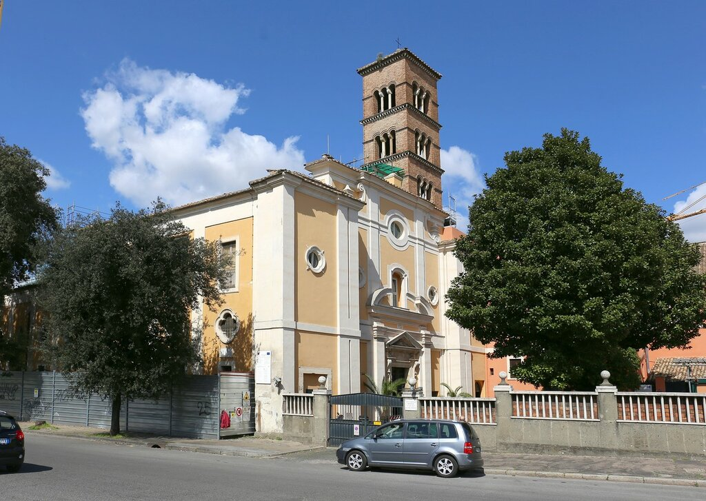 Рим. Церковь Сан-Систо Векио (Chiesa di San Sisto Vecchio)