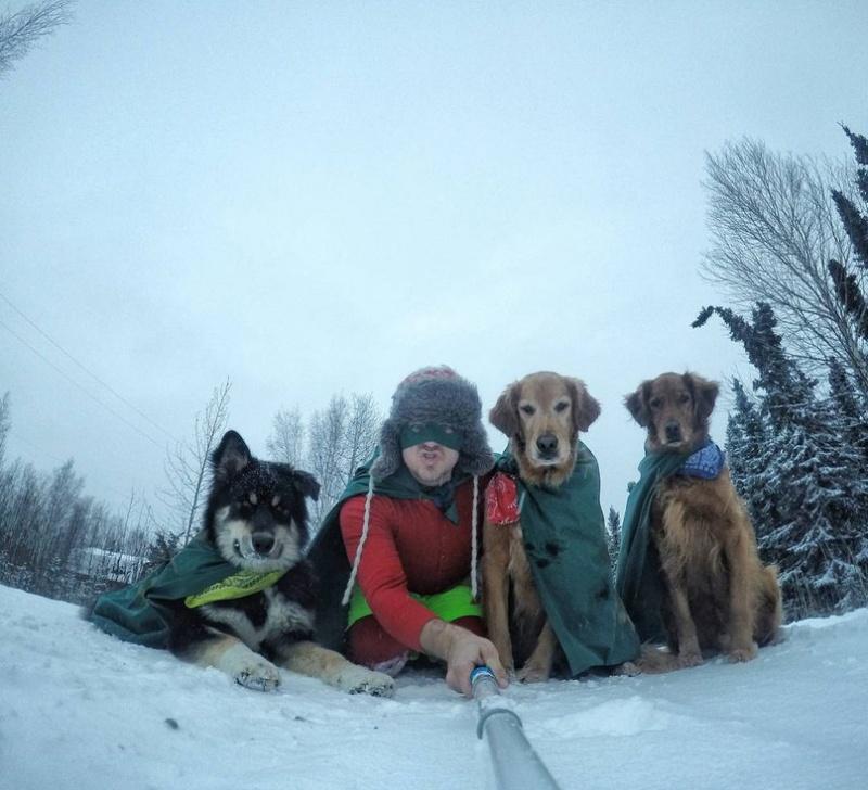 Стоматолог изАляски иего мимимишные собаки покорили интернет