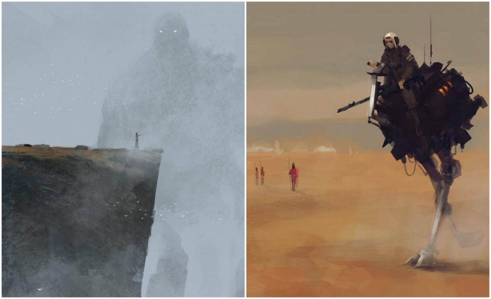 Художник Якуб Розальски (Jakub Rozalski) насвоих полотнах создает атмосферу сказочного изахватываю