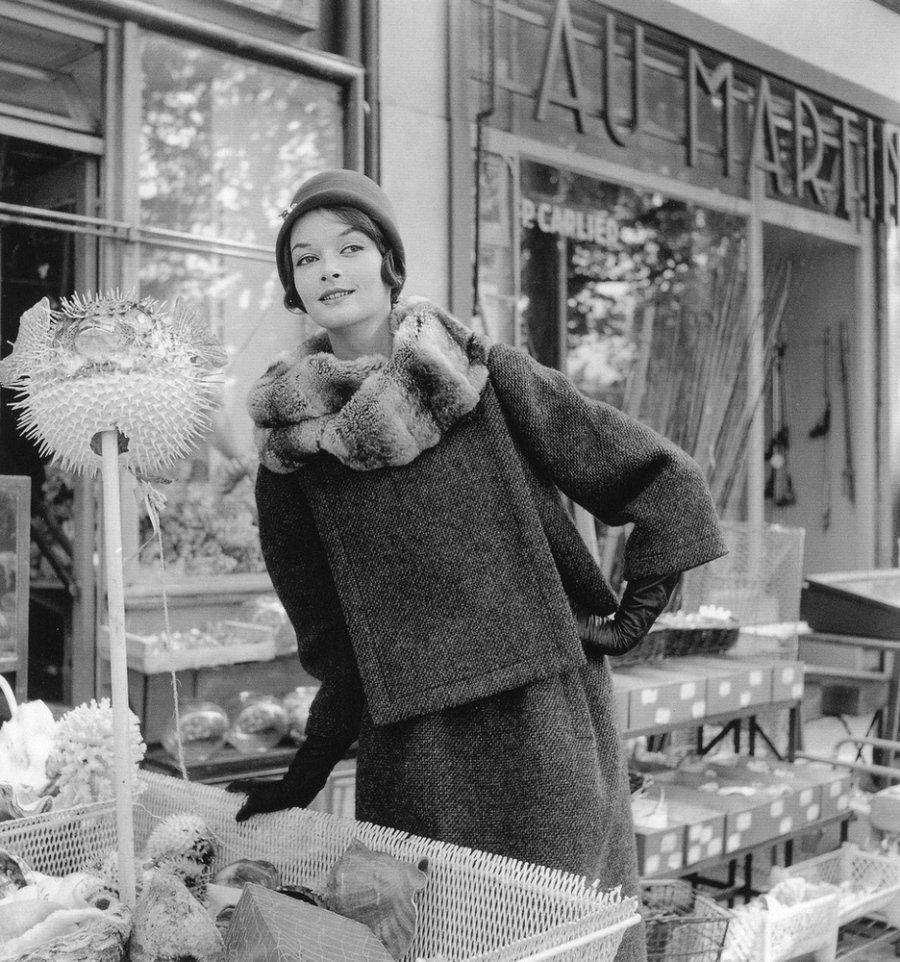 Фотографии моды в 1940-60-х годах. Автор фото: Willy Maywald.