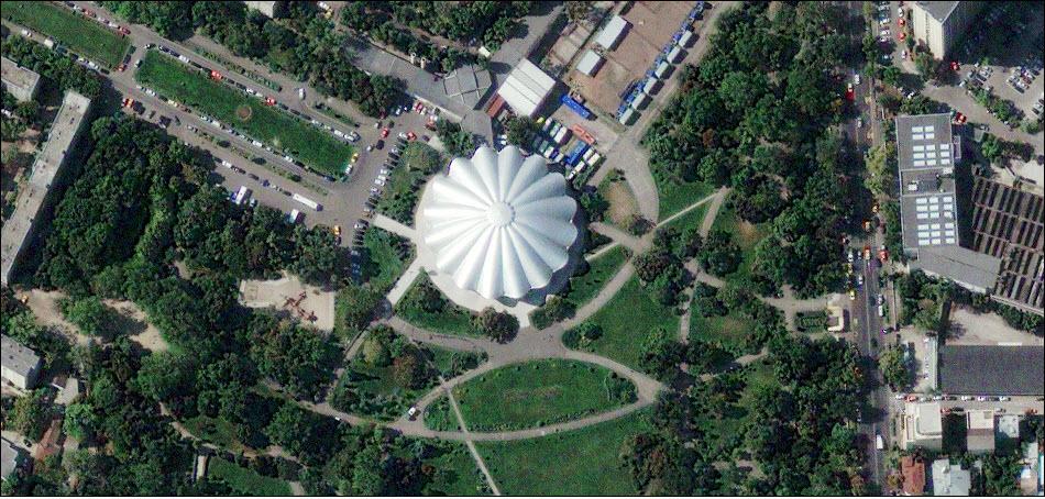 4. Государственный цирк Бухареста, Румыния.