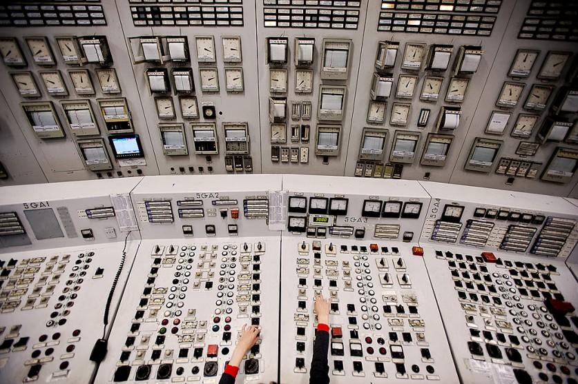 «Работа за пультом управления одной из Новосибирских ТЭЦ».