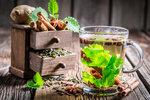 Green tea with cinnamon bark