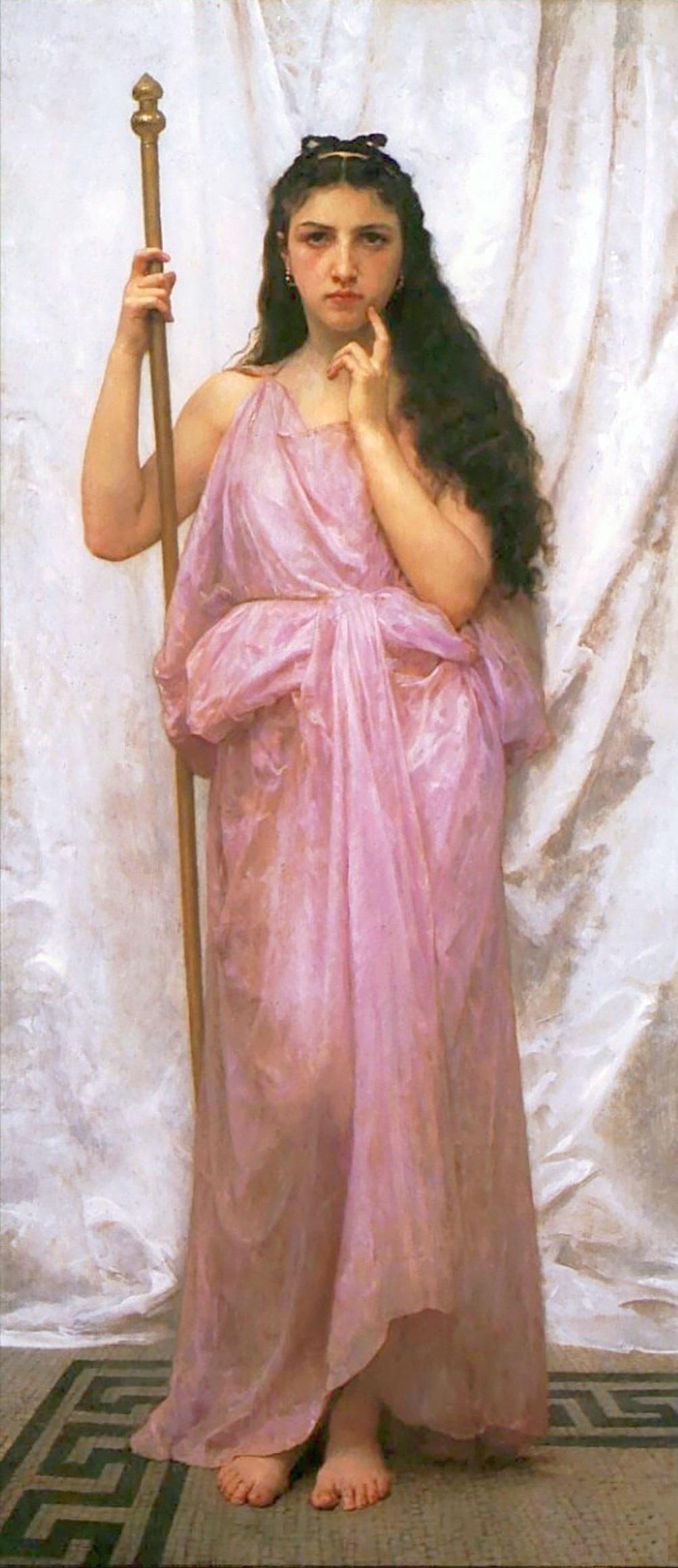 Молодая жрица 1902, художественная галерея университета Рочестера William-Adolphe_Bouguereau_(1825-1905)_-_Young_Priestess_(1902) -1.jpg