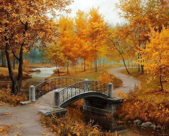 Сразу 5 современных художников, влюблённых в осень!