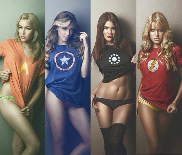 Супергероини