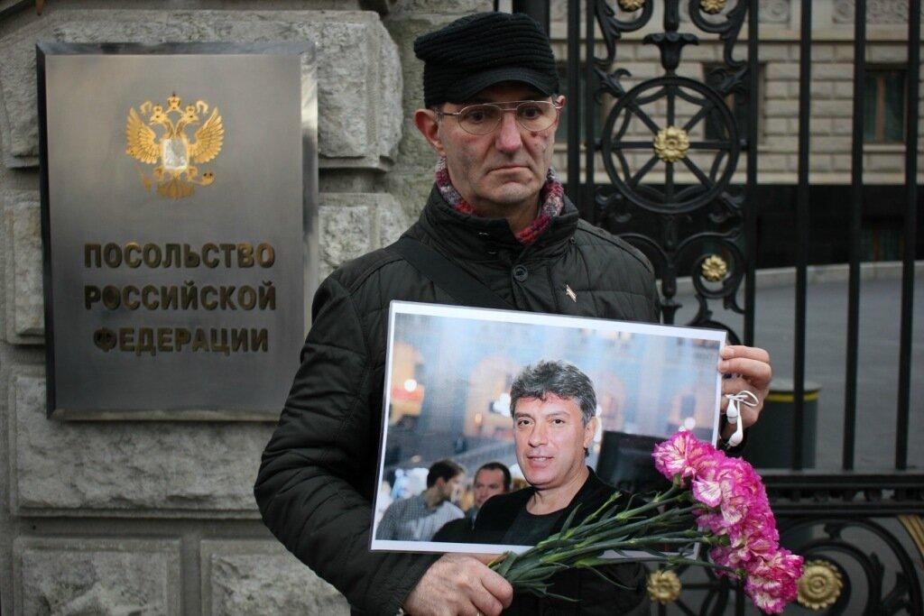 Берлин: год без Бориса Немцова
