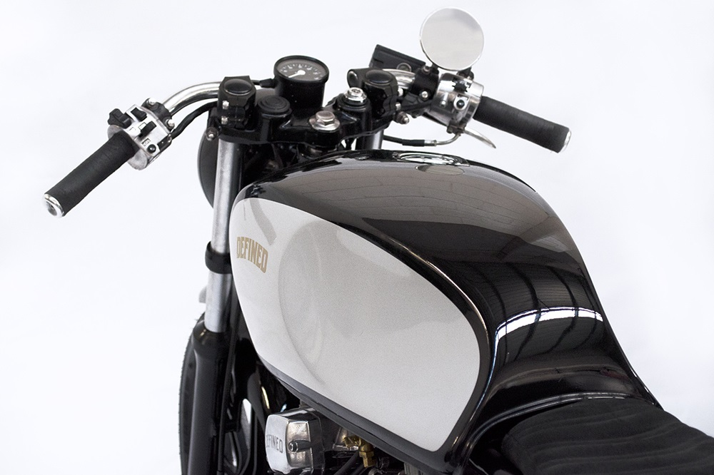 Defined Motorcycles: кафе рейсер Yamaha XS250