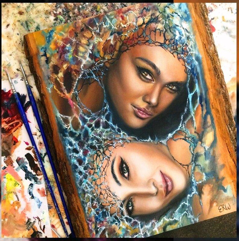 Фантастические девушки из снов на картинах Эрики Векслер (5).jpg